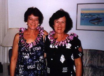 Pam and Kathy